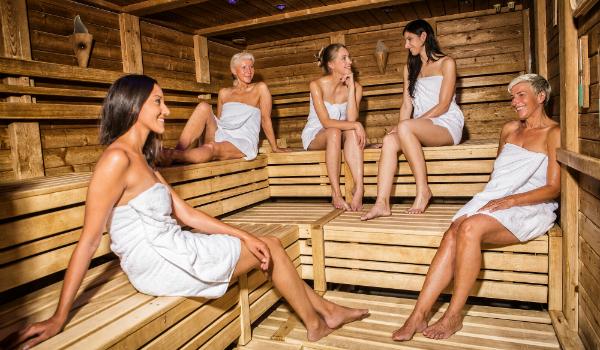VeuGeln In Der Sauna